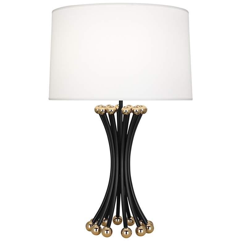 Jonathan Adler Biarritz Blackened Metal Table Lamp