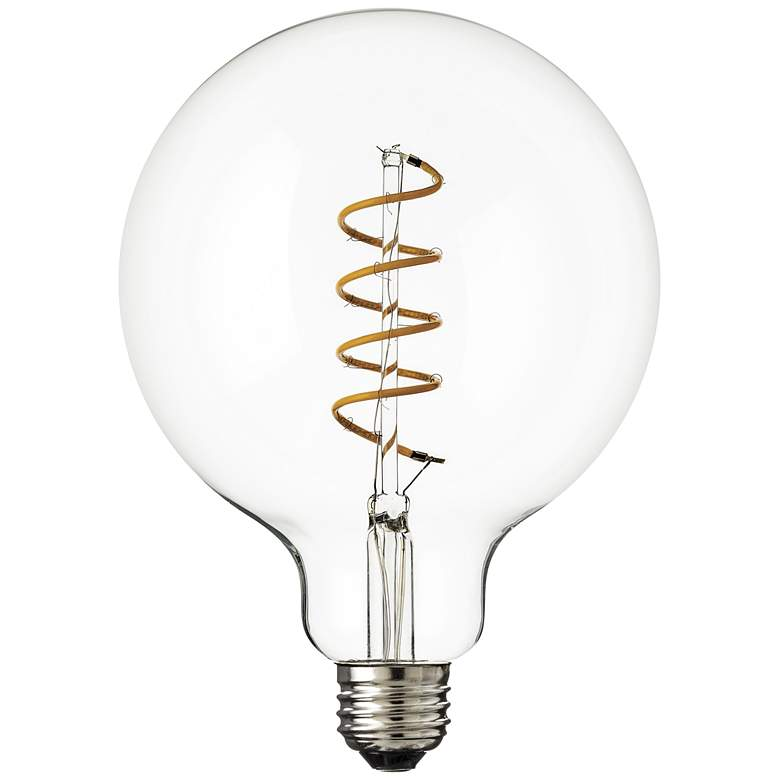 60W Equivalent Clear 6W LED Dimmable Standard Spiral G40