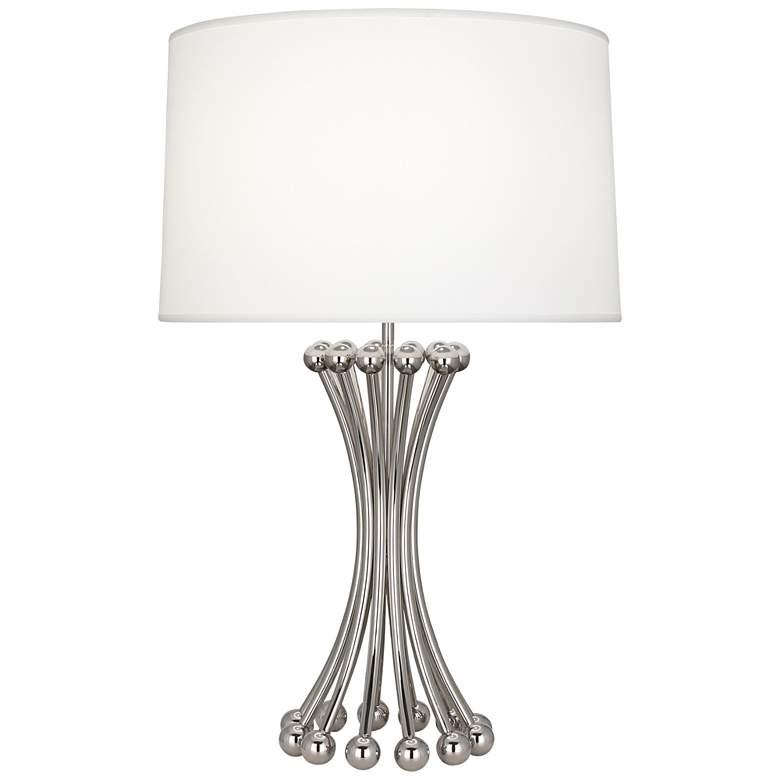 Jonathan Adler Polished Nickel Metal Table Lamp