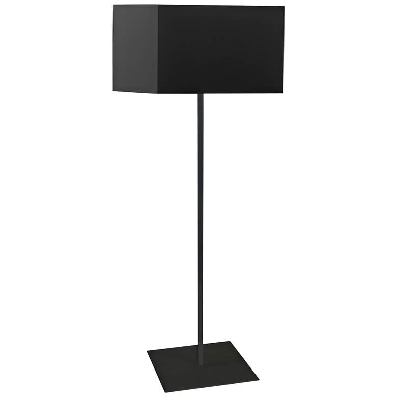 Jude Matte Black Metal Square Shade Floor Lamp 64g48 Lamps Plus