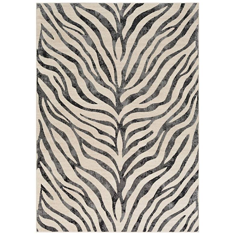 City CR613 Taupe Area Rug