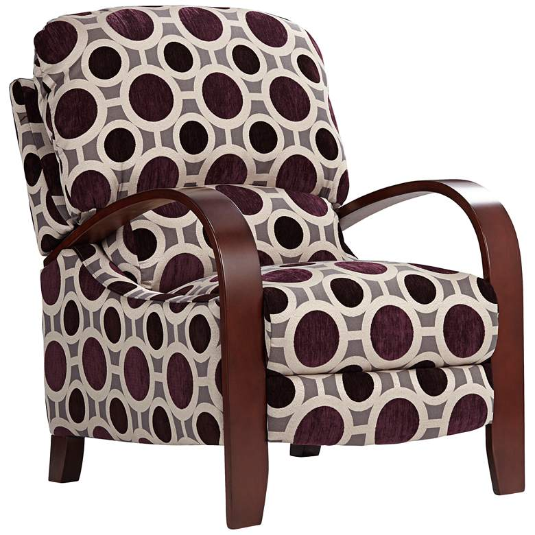 Cooper Conspiracy Mulberry 3-Way Recliner Chair