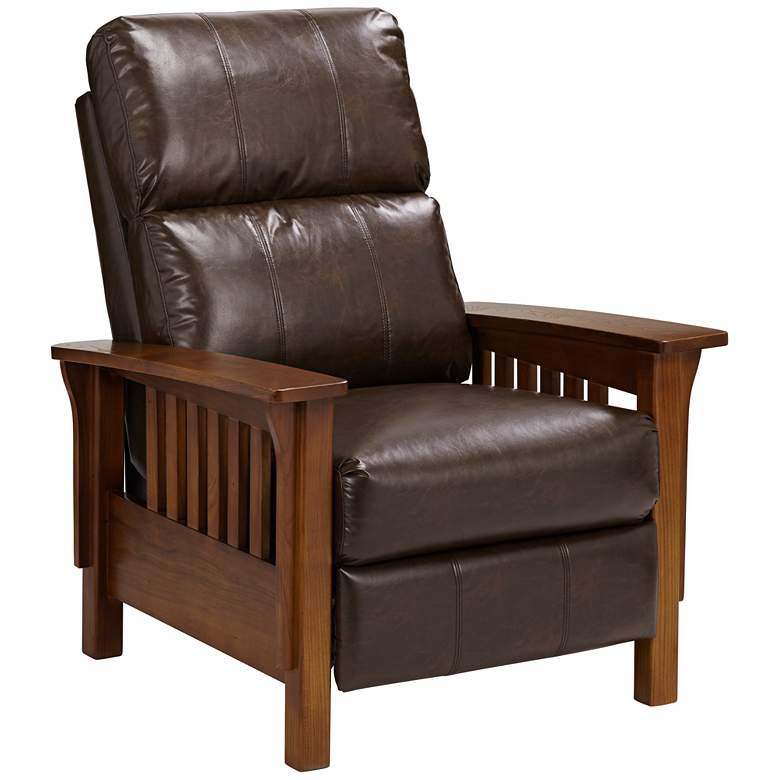 Evan Augusta Saddle Soft Touch 3-Way Recliner Chair