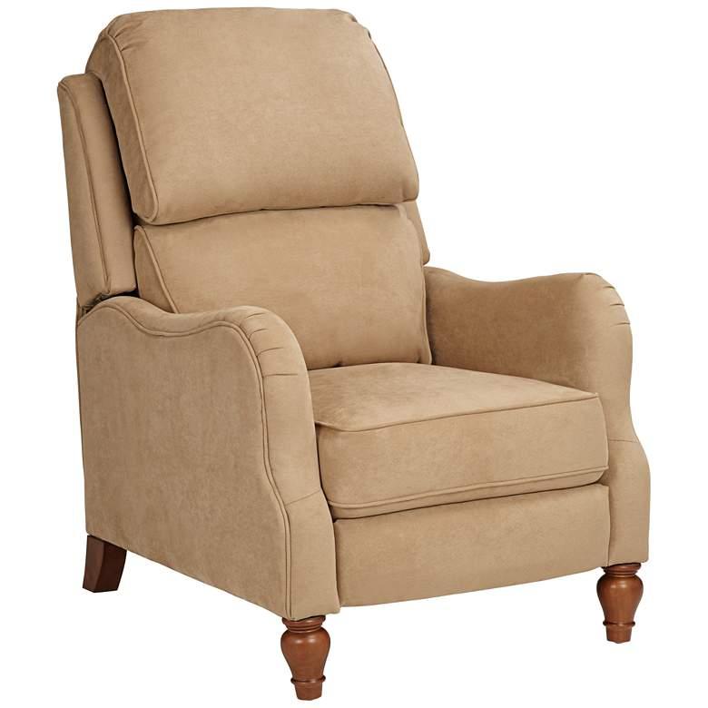 Farrah Saddle Tan 3-Way Recliner Chair