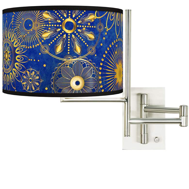 Tempo Celestial Plug-in Swing Arm Wall Lamp
