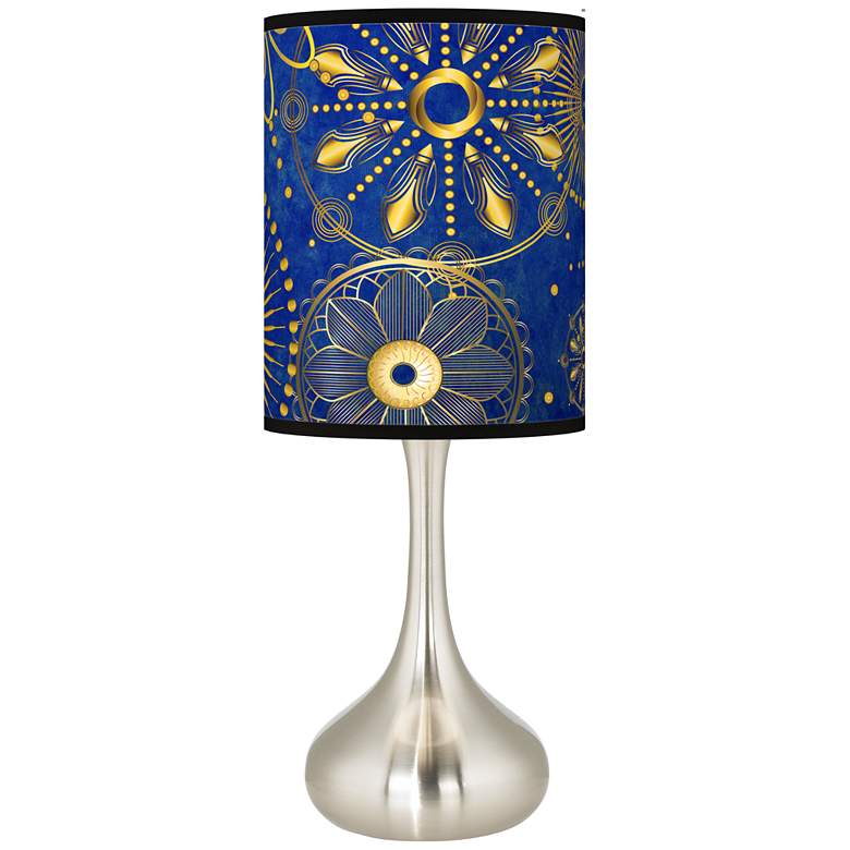 Celestial Giclee Droplet Table Lamp
