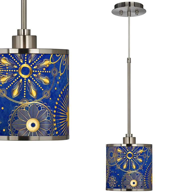 Celestial Giclee Glow Mini Pendant Light