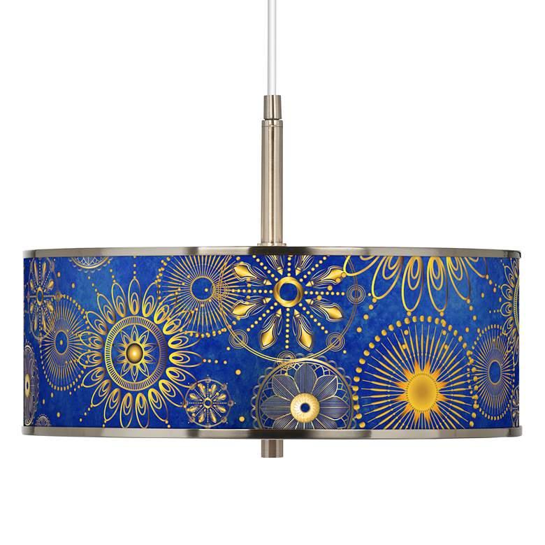 "Celestial Giclee Glow 16"" Wide Pendant Light"