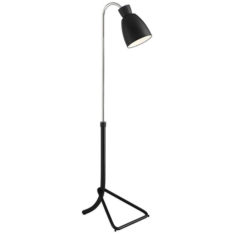 Possini Euro Seymour Chairside Pharmacy Arc Floor Lamp