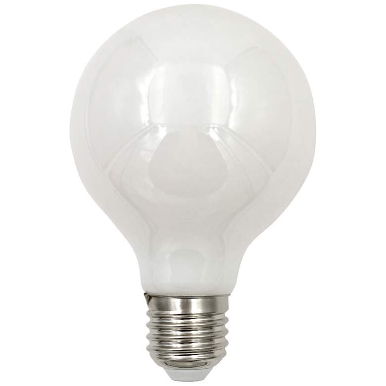 75W Equivalent Tesler Milky 9W LED Dimmable Standard G25
