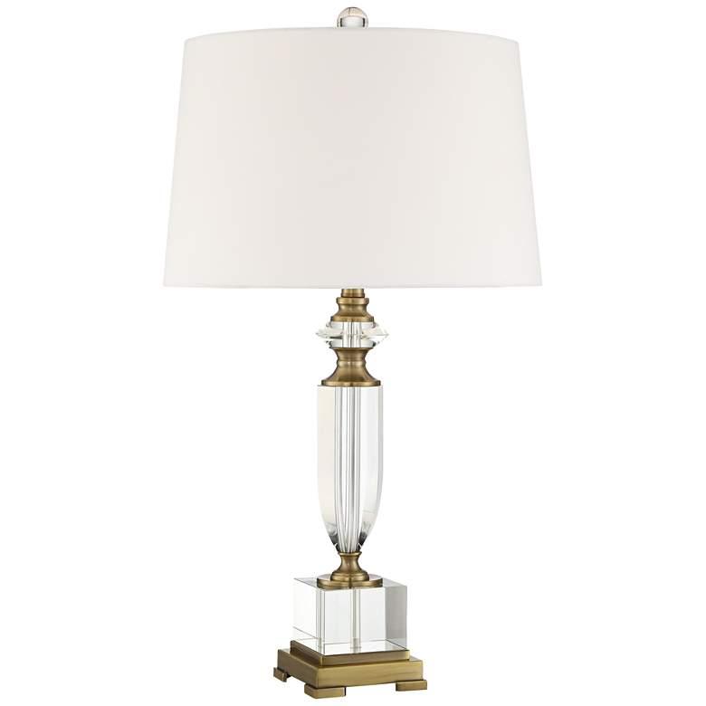 Angeline Crystal Urn Table Lamp