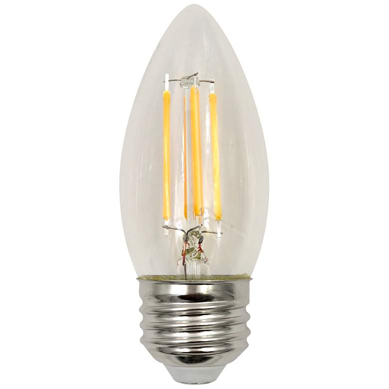 60W Equivalent Clear 5.5W LED Dimmable Filament Torpedo
