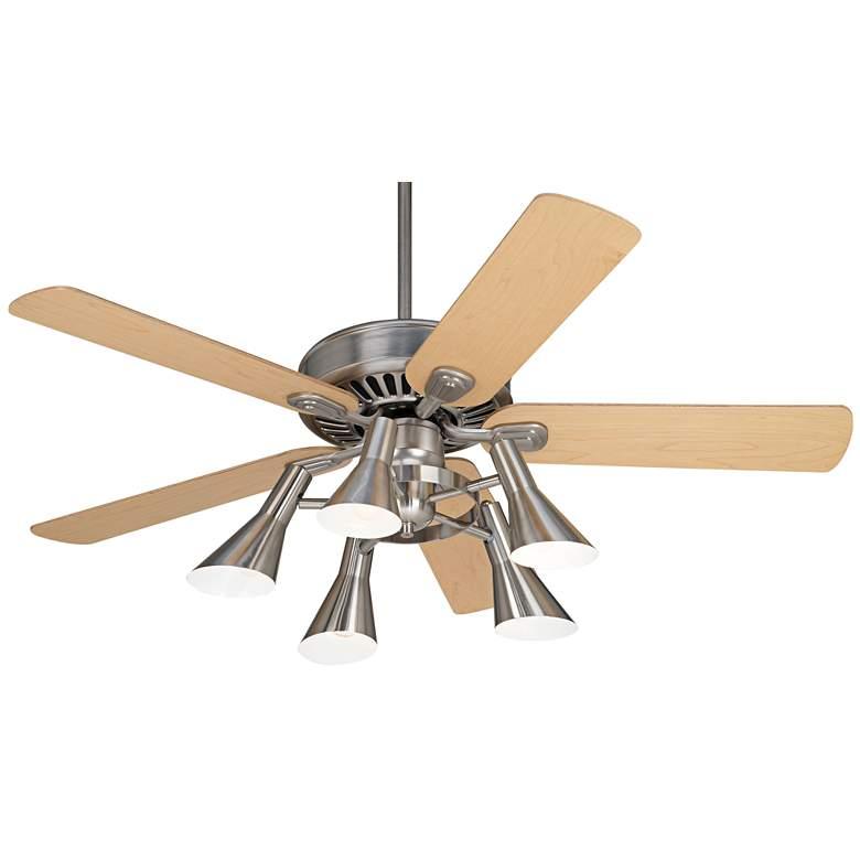 """52"""" Windstar II Maple Retro 5-Light LED Ceiling Fan"""