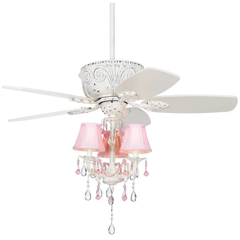 """44"""" Casa Deville™ Pretty in Pink LED Ceiling Fan"""