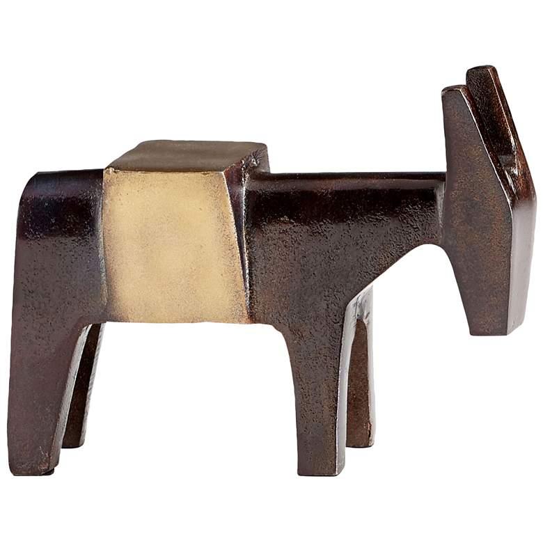 """Cyan Design Bongo Bill 8 1/4"""" Wide Bronze Sculpture #2"""