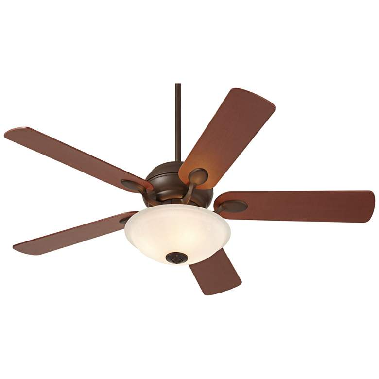 "52"" Casa Optima™ Oil-Rubbed Bronze LED Ceiling Fan"
