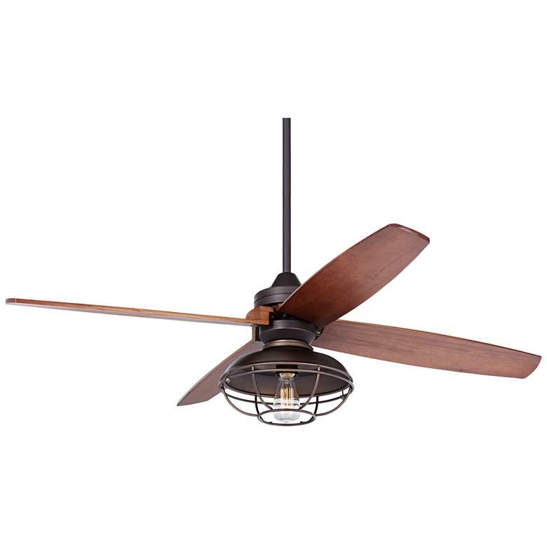 "52"" Casa Vieja Impel Franklin Park Bronze Ceiling Fan"