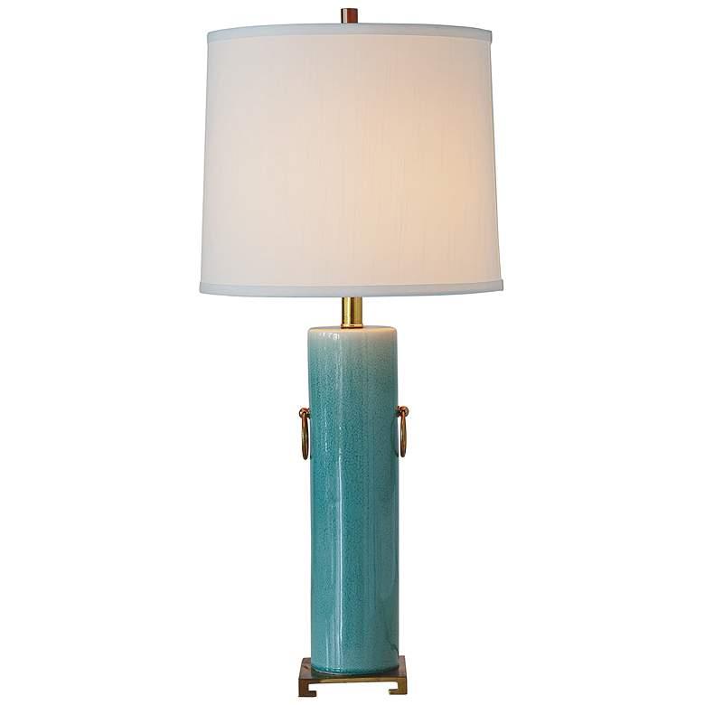 Port 68 Beverly Celadon Porcelain Table Lamp
