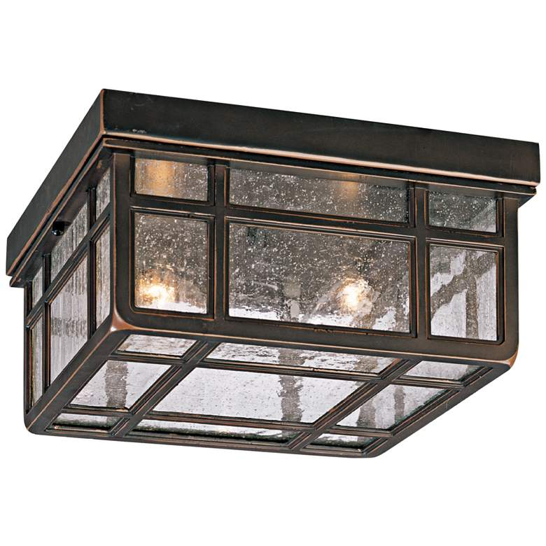 "J du J Sierra Craftsman 10 1/2"" Wide Ceiling Light"