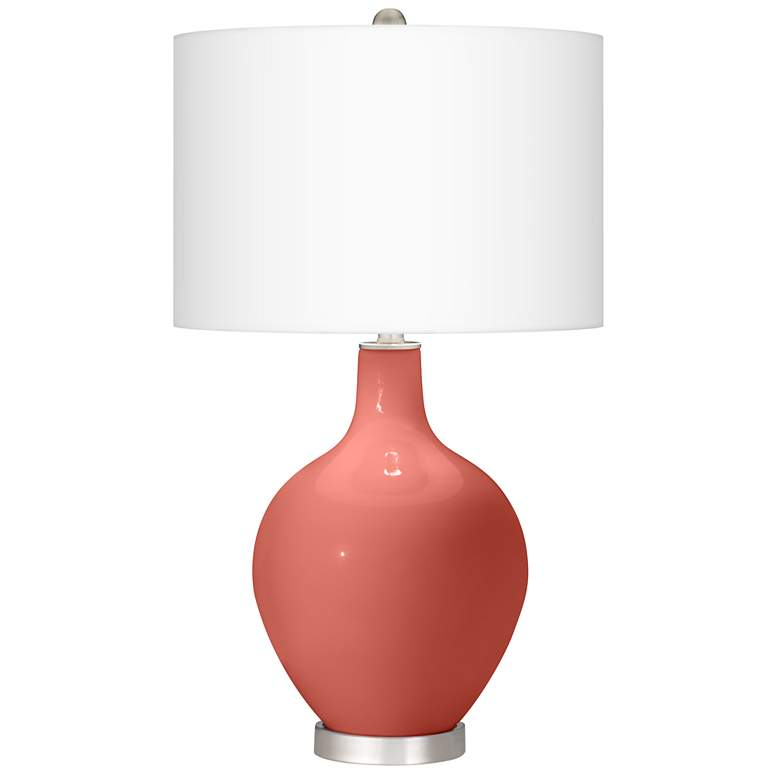 Coral Reef Ovo Table Lamp With Dimmer