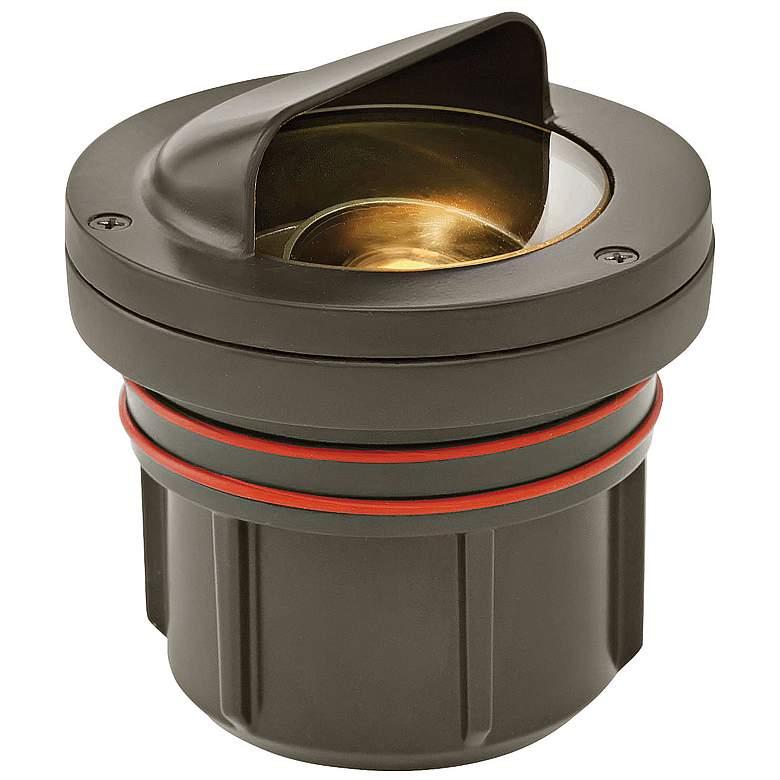 Hinkley Shielded Bronze 5 Watt LED Outdoor Well