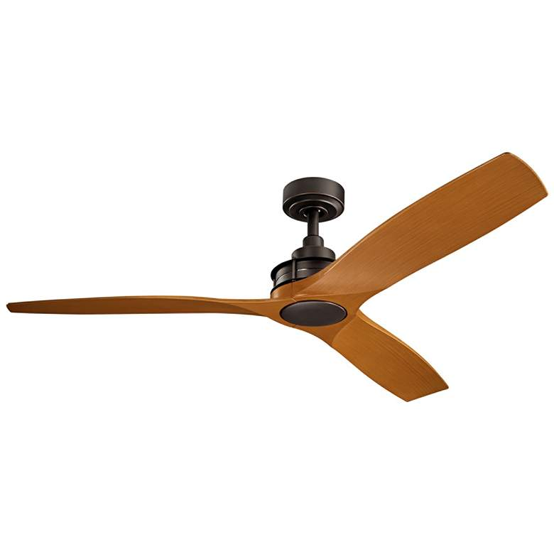 """56"""" Kichler Ried Cherry and Olde Bronze Ceiling Fan"""