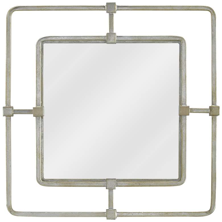 """Currey and Company Metro Silver 22 1/2"""" Square"""