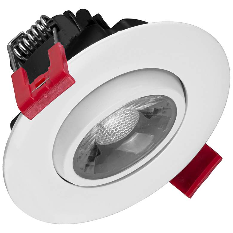 "Nicor 3"" White Residential LED Gimbal Recessed Downlight"