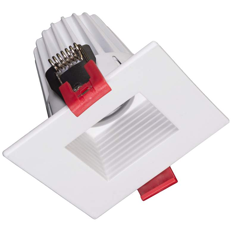 """Nicor 2"""" Square White Residential LED Recessed Downlight"""