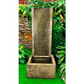 Outdoor Fountains Patio Garden Water Lamps Plus