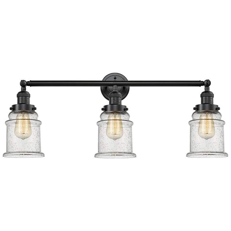 "Canton 30""W Oil-Rubbed Bronze 3-Light Adjustable Bath Light"