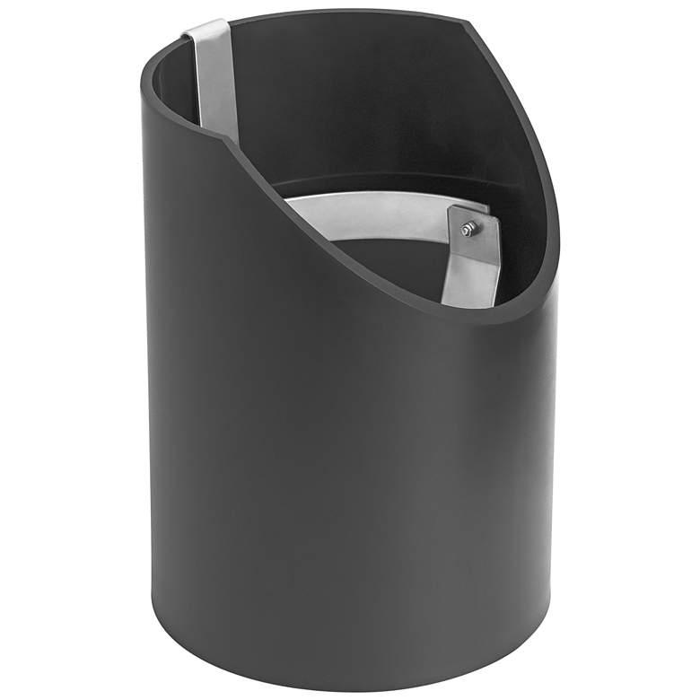 Kichler Black Well Light Gimbal and Sleeve Kit