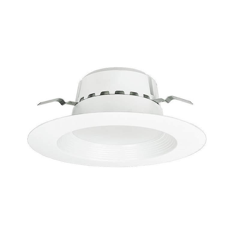 "5/6"" White Baffle 13.5 Watt Dimmable LED Retrofit Trim"