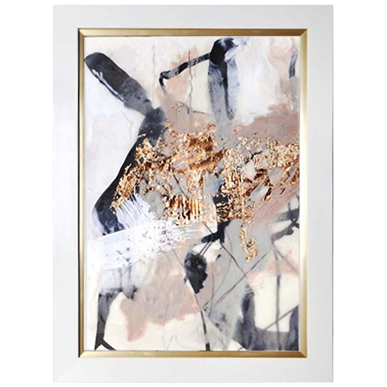 "Crestview Collection Golden Blush I 30"" High Framed"