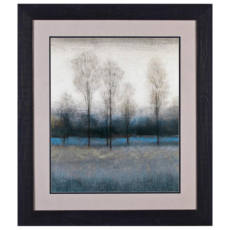 """Crestview Collection Fall III 37"""" High Framed Wall"""