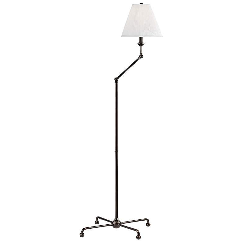 Classic No.1 Distressed Bronze Adjustable Floor Lamp