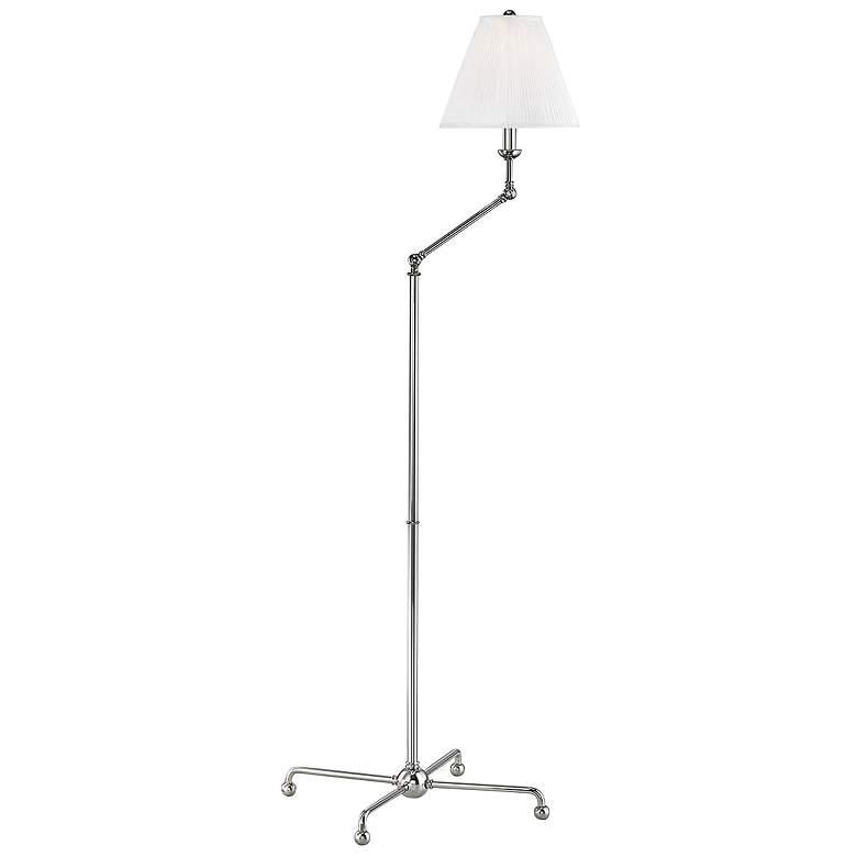 Classic No.1 Polished Nickel Adjustable Floor Lamp