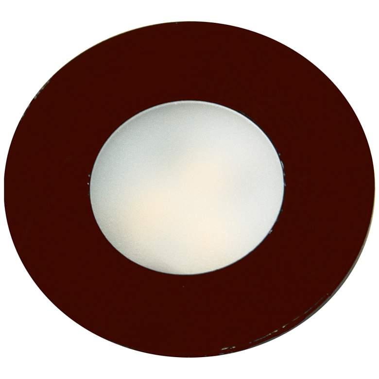 "SlimEdge™ 1.3""W Bronze LED Recess Mount Slim Puck"