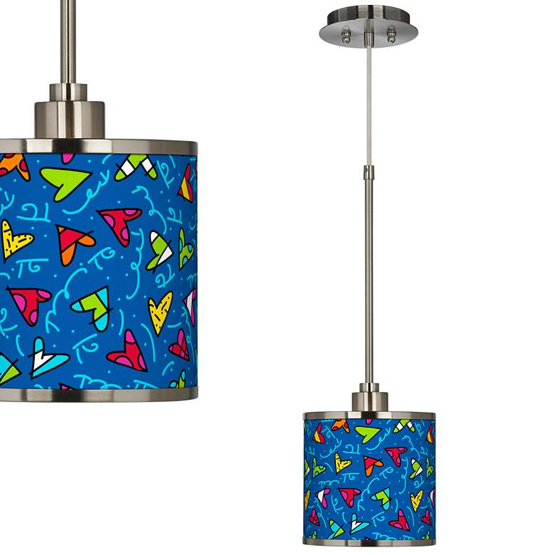 Britto Hearts Mini Pendant Light