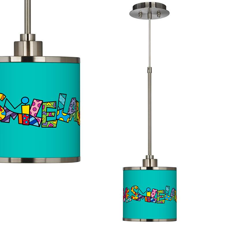 Romero Britto Love Smile Mini Pendant Light