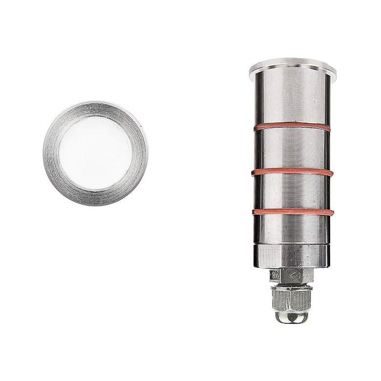 "WAC 1"" Stainless Steel Slim Round LED Indicator"