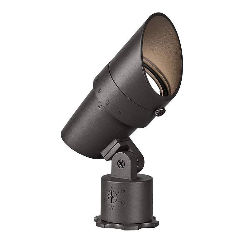 "WAC Landscape 6"" High Bronze 3000K LED Accent Spot Light"