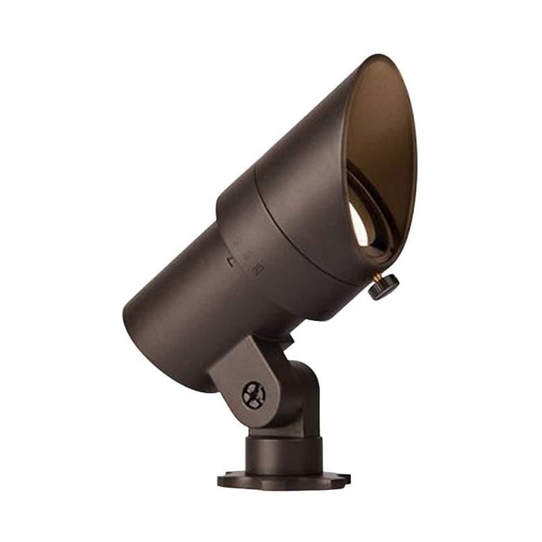 """WAC Landscape 4""""H Bronze 2700K LED Mini Accent Spot Light"""