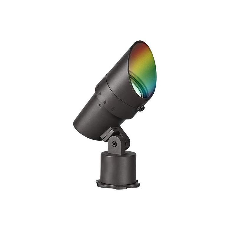 "WAC Ilumenight 6"" High Bronze Color Changing LED Spot Light"