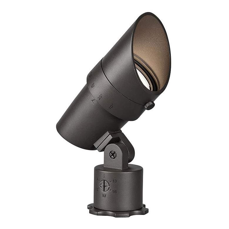 """WAC Landscape 6""""H Bronzed Brass 120V LED Accent Spot Light"""