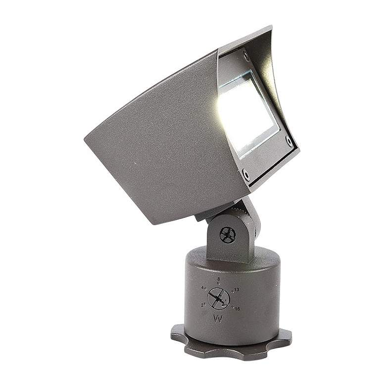 "WAC Landscape 6 1/4"" High Bronze 3000K LED 12V Flood Light"