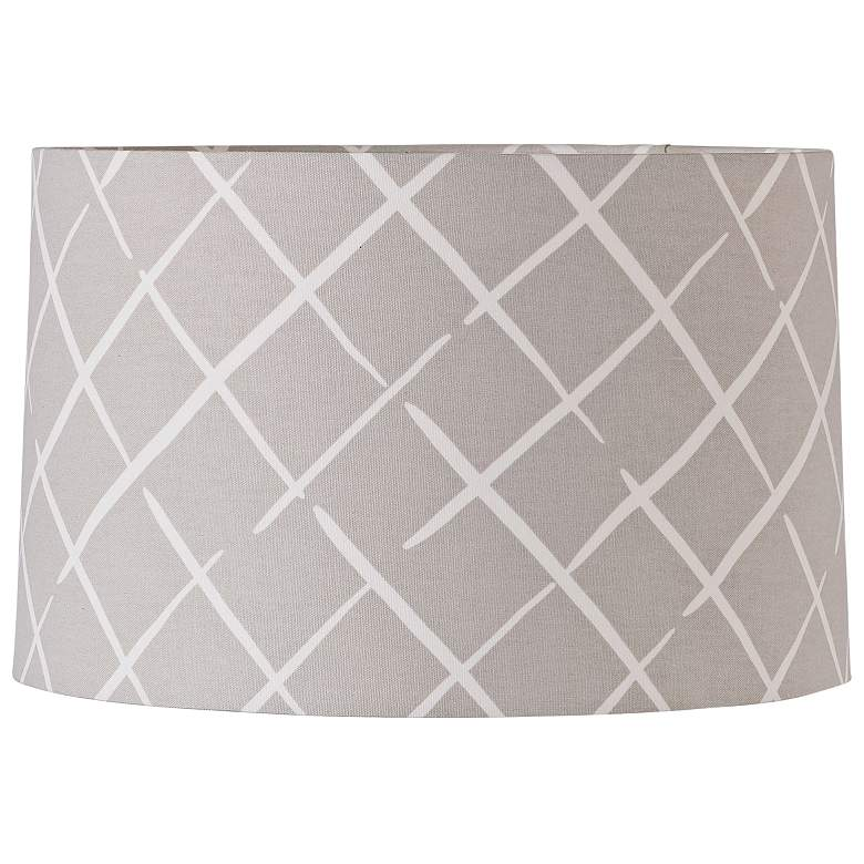 Cove End Oyster Drum Lamp Shade 15x16x10 (Spider)