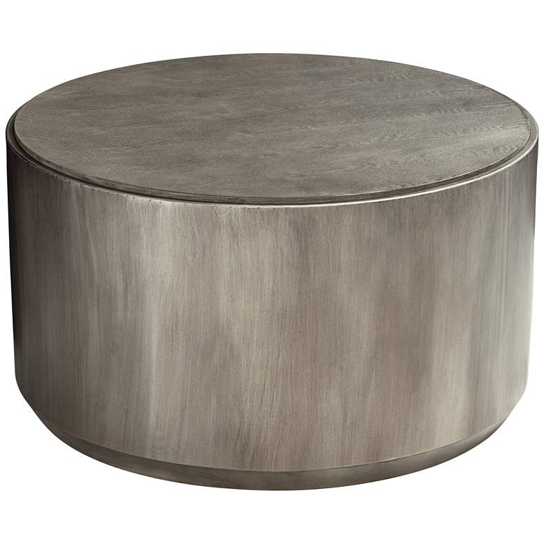 """Crestview Collection 31"""" W  ide Trenton Round Cocktail Table"""