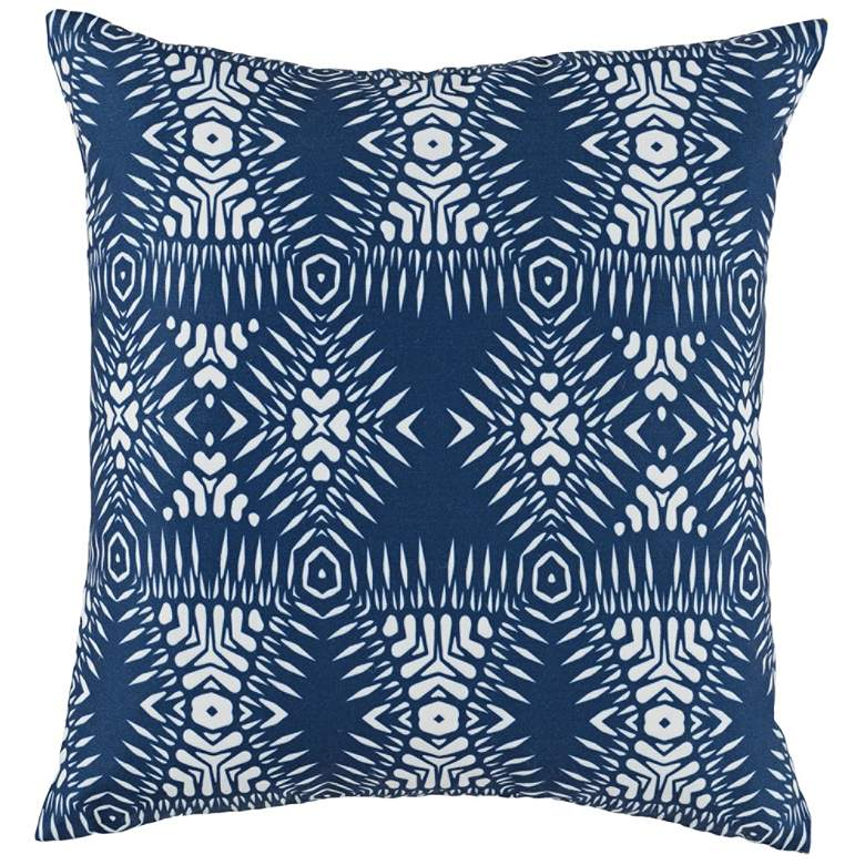 "Arroyo Pacific Blue 18"" Square Decorative Pillow"