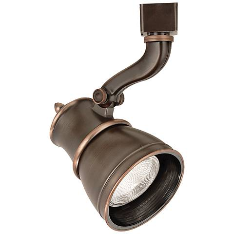 WAC Caribe 797 L Antique Bronze Track Head for Lightolier